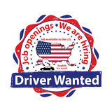 Driver needed. Stock Image