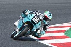 Driver Nepa, Stefano. Moto3. Leopard Junior Team. FIM CEV Repsol Royalty Free Stock Images