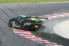 Driver Nicolas Gomar. Lamborghini Huracan Super Trofeo Stock Images