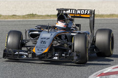 Driver Niko Hulkenberg Team Sahara Force India F1 Immagini Stock