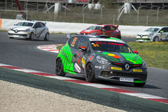 Driver Olivier Jouffret. Clio Cup Royalty Free Stock Photos
