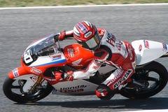 Driver Ono Hiroki Team Honda Asia FIM CEV Repsol Immagine Stock