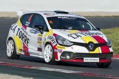 Driver Pablo Martin. Clio Cup. Stock Photos