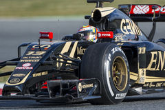 Driver Pastor Maldonado. Team Lotus Royalty Free Stock Image