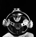 Driver pazzesco Immagini Stock Libere da Diritti