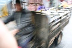 Driver più veloce del risciò Immagini Stock