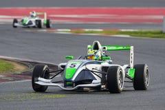 Driver Pierre-Alexandre Jean.  Championnat de France F4 Stock Photos