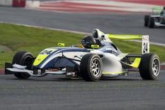Driver Pierre-Paul Baradat.  Championnat de France F4 Stock Photography