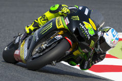Driver POL ESPARGARO. MONSTER YAMAHA TECH 3 TEAM. Stock Image