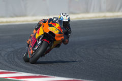 Driver Pol Espargaro. Red Bull Team. Monster Energy Grand Prix of Catalonia royalty free stock image