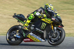 Driver Pol Espargaro. Yamaha Team Stock Photos