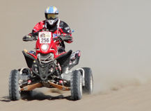 Driver at Rally Dakar 2013 Royalty Free Stock Photo