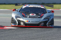 Driver Ramos. McLaren 650S. International GT Open Royalty Free Stock Images