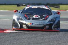 Driver Ramos. McLaren 650S. International GT Open Royalty Free Stock Images