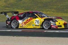 Driver Raymond Narac. Porsche 991 GT3 Royalty Free Stock Photography