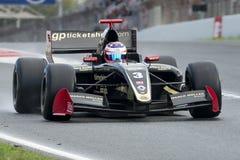 Driver Rene Binder. Formula V8 3.5 Royalty Free Stock Images