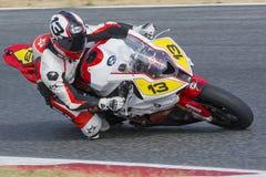 Driver Roberto Ortega. BMW S1000RR. Stock Image