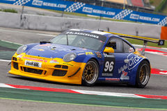 Driver Robin CHRZANOWSK. Team Click Vers. Royalty Free Stock Photo