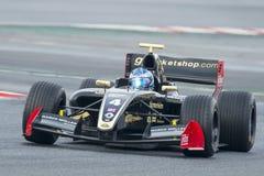 Driver Roy Nissany.  Formula V8 3.5 Royalty Free Stock Photos