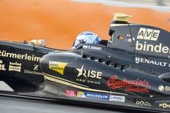 Driver Roy Nissany.  Formula V8 3.5 Stock Photography