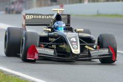 Driver Roy Nissany. Formula V8 3.5 Stock Image
