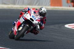 Driver Scott Redding Gruppo di Octo Pramac Gran Premio di energia del mostro della Catalogna Fotografie Stock