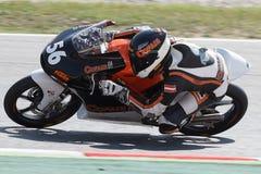Driver Thomas Gradinger Team Cofain Racing FIM CEV Repsol Fotografie Stock