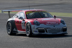 Driver Thomas Laurent. GT Cup Royalty Free Stock Images