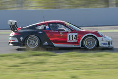 Driver Thomas Laurent. GT Cup Royalty Free Stock Photo