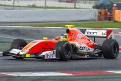 Driver Tom Dillmann.  Formula V8 3.5 Royalty Free Stock Photos