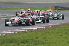 Driver Tristan Charpentien.  Championnat de France F4 Royalty Free Stock Photo