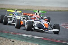 Driver Tristan Charpentier. Championnat de France F4 Stock Image