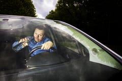 Driver ubriaco immagine stock