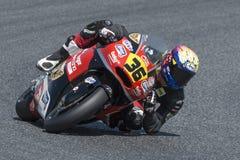 Driver Uribe, Jayson. Moto3. AGR Team. FIM CEV Repsol Stock Photo