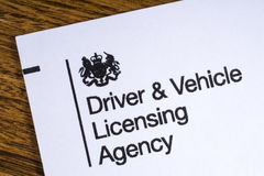 Driver and Vehicle Licensing Agency Stock Photos
