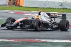 Driver Vitor Baptista.  Formula V8 3.5 Royalty Free Stock Photo