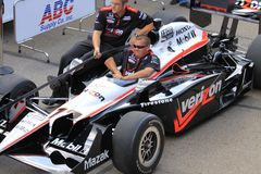 Driver Will Powers Indy car Stock Photo