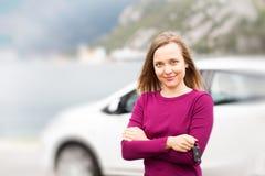 Driver Woman Stock Photo