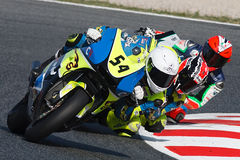 Driver Woodbine, Marcus. Team MR Griful. FIM CEV Repsol Royalty Free Stock Photo
