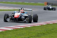 Driver Xavier Lloveras.  Euroformula Open Royalty Free Stock Image