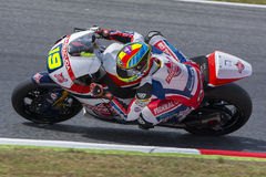 Driver XAVIER SIMEON. FEDERAL OIL GRESINI Moto Team Stock Photo