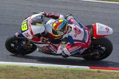 Driver XAVIER SIMEON. FEDERAL OIL GRESINI Moto Team Stock Photo