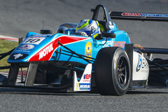 Driver Yarin STERN. Dallara F312. Euroformula Open. International GT Open Royalty Free Stock Photos