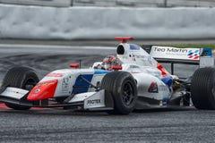 Driver Yu Kanamaru.  Formula V8 3.5 Stock Image