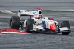 Driver Yu Kanamaru.  Formula V8 3.5 Royalty Free Stock Image