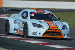 Free Driver Yves Depp. Triangle Team. Lamera Cup Stock Photography - 70360612