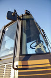 Drivers cab wheel loader 07 Royalty Free Stock Image