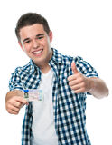 Drivers  license Royalty Free Stock Photography