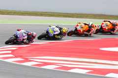 Drivers, Lorenzo, Rosi, Pedrosa, Marquez. MOTOGP Royalty Free Stock Photography