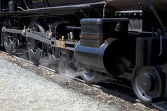 Drivers on Steam Locomotive Stock Photo